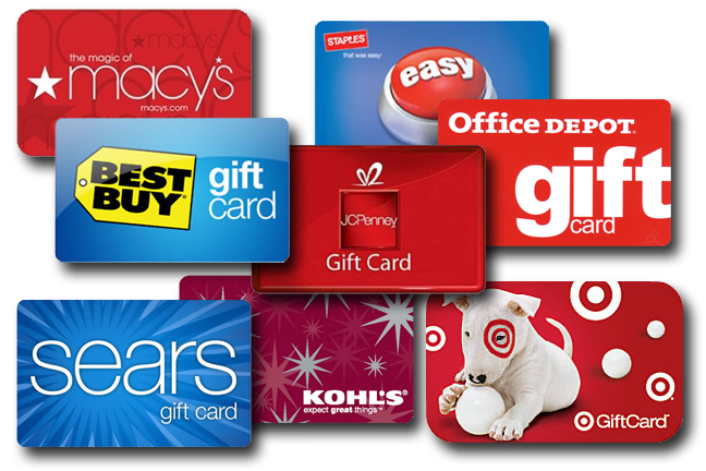 Turn your credit card rewards into gift cards. Please even the toughest people on your list. From travel miles to cash back and more, you can redeem credit card rewards in lots of ways.